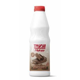 Gelq.it | TOPPING DARK CHOCOLATE Toschi Vignola | Italian gelato ingredients | Buy online | Topping sauces