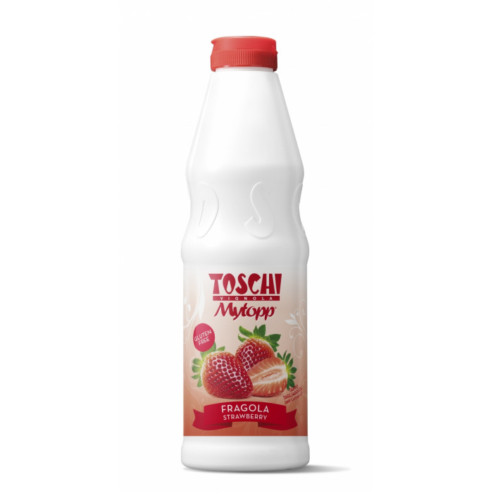 Gelq.it | TOPPING STRAWBERRY Toschi Vignola | Italian gelato ingredients | Buy online | Topping sauces