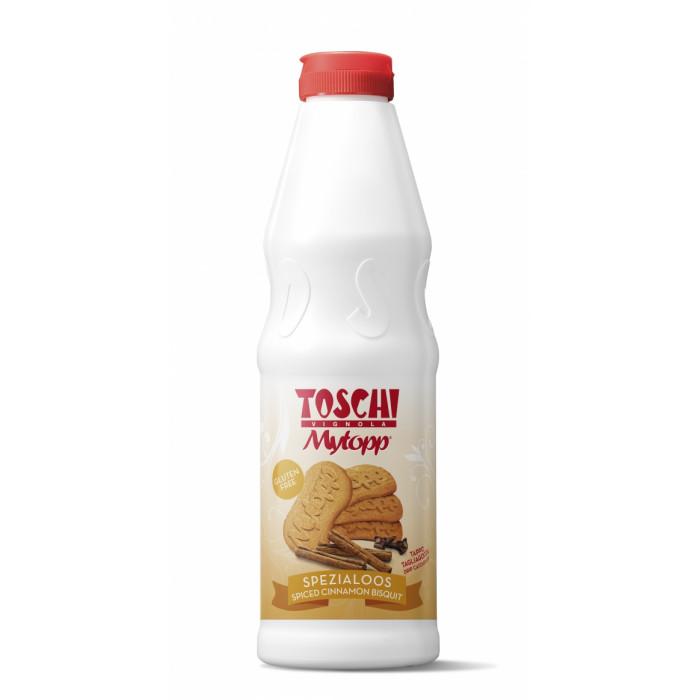 Prodotti per gelateria | Acquista online su Gelq.it | TOPPING SPEZIALOOS (SPECULOOS - BISCOTTI SPEZIATI ALLA CANNELLA) di Toschi