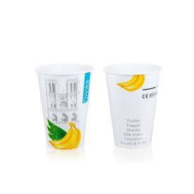 Italian gelato ingredients | Ice cream products | Buy online | DRINK PAPER CUP VC - 200 ML. DRINKS & CITY Medac on Drink & hot d