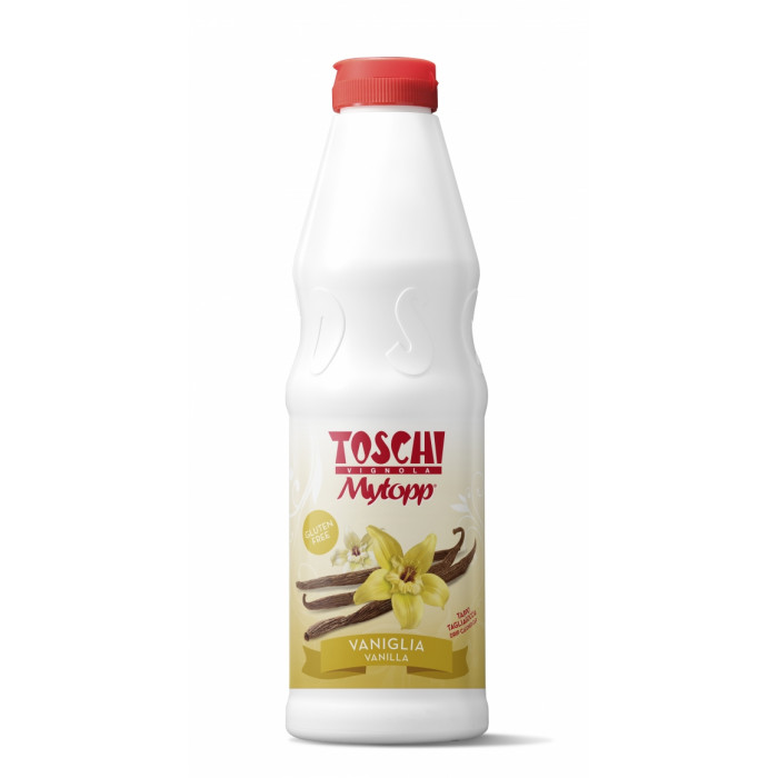 Gelq.it | TOPPING VANILLA Toschi Vignola | Italian gelato ingredients | Buy online | Topping sauces