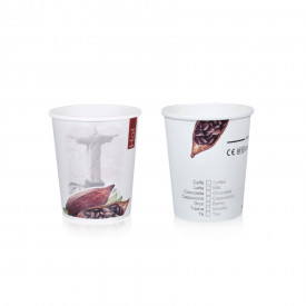 HOT DRINK PAPER CUP 10CK - 200 ML. HOT & CITY