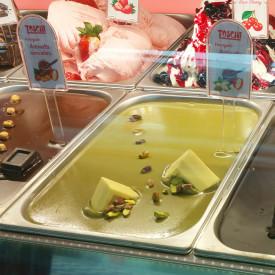 Prodotti per gelateria | Acquista online su Gelq.it | CREMA ANTONELLA PISTACCHIO di Toschi Vignola. Variegati creme per gelato.