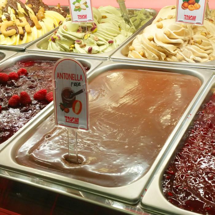 Gelq.it   ANTONELLA FREE CREAM (SUGAR FREE & PALM OIL FREE) Toschi Vignola   Italian gelato ingredients   Buy online   Hazelnut