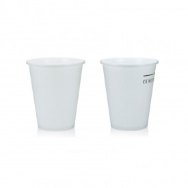 HOT DRINK PAPER CUP 237CK - 250 ML. WHITE