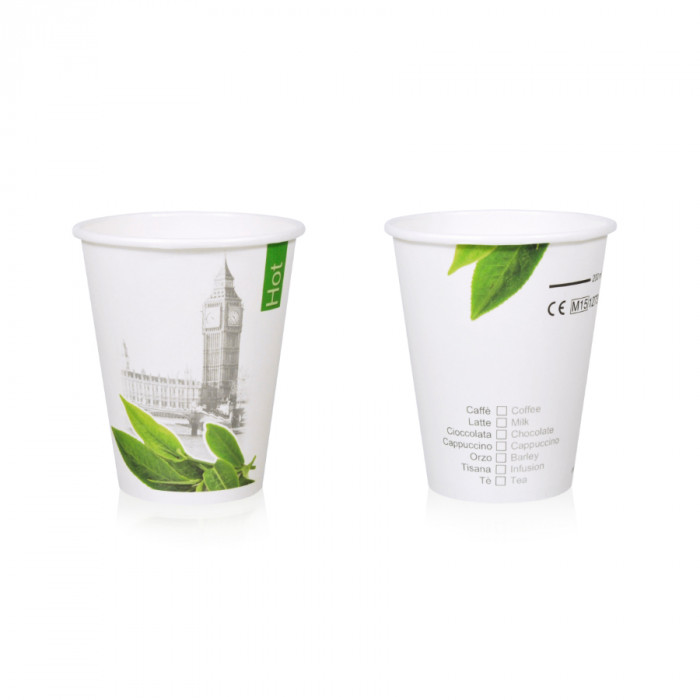 Italian gelato ingredients | Ice cream products | Buy online | HOT DRINK PAPER CUP 237CK - 250 ML. HOT & CITY Medac on Drink & h