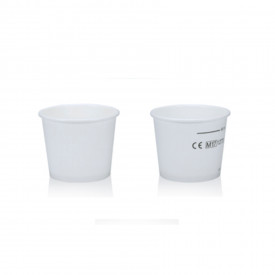 HOT DRINK PAPER CUP 80CK - 80 ML. WHITE