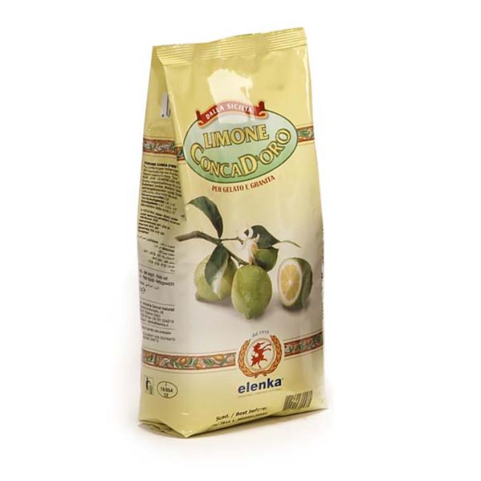 Acquista online su Gelq.it |Elenka BASE CONCA D'ORO LIMONE 500. Prodotti per la tua gelateria. Base gelato Elenka.
