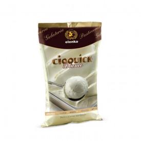 Acquista online su Gelq.it |Elenka BASE CIOQUICK BIANCO. Prodotti per la tua gelateria. Base gelato cioccolato Elenka.