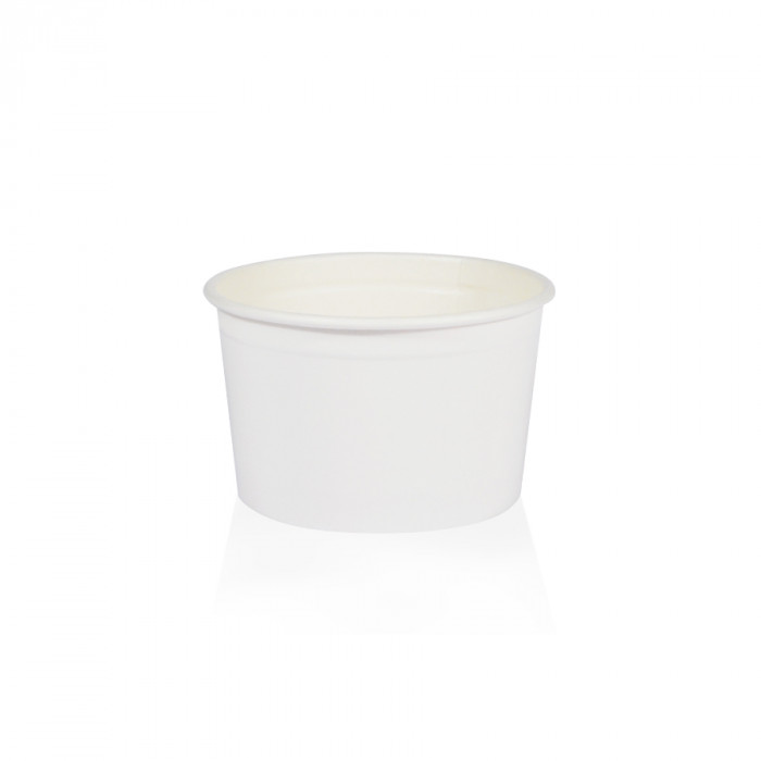 Gelq.it | GELATO PAPER CUP 108C WHITE Medac | Italian gelato ingredients | Buy online | Gelato paper cups