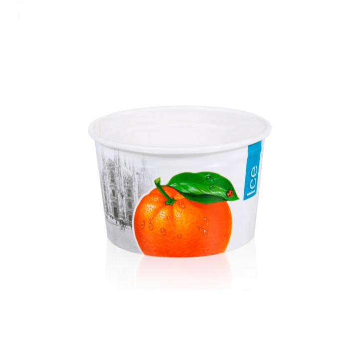 Gelq.it | GELATO PAPER CUP 108C ICE & CITY Medac | Italian gelato ingredients | Buy online | Gelato paper cups
