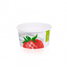 Gelq.it | GELATO PAPER CUP 16B ICE & CITY Medac | Italian gelato ingredients | Buy online | Gelato paper cups