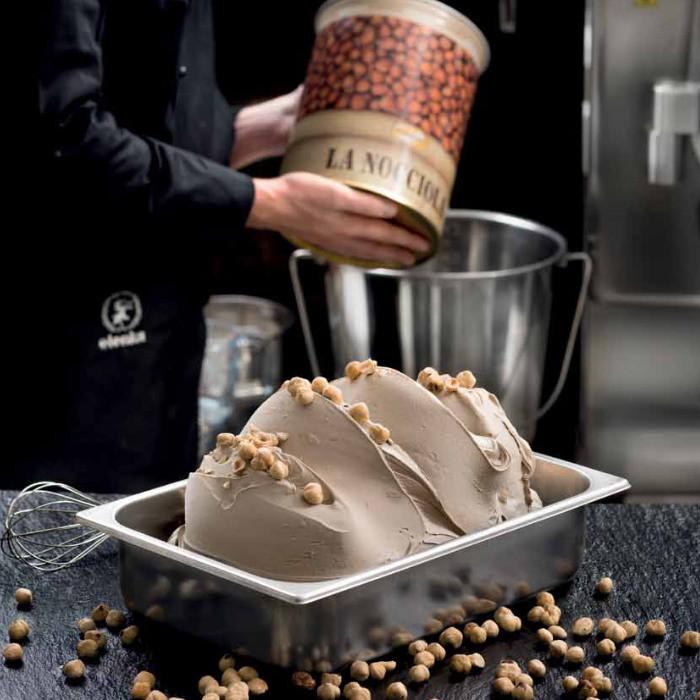 Buy online on Gelq.it | LAURUS HAZELNUT PASTE Elenka | Italian gelato ingredients | Nuts ice cream pastes Elenka