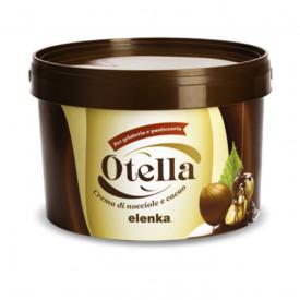 Acquista online su Gelq.it |Elenka CREMA OTELLA. Prodotti per la tua gelateria. Creme Elenka.