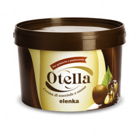 Buy online on Gelq.it | CREMINO OTELLA Elenka | Italian gelato ingredients | Cremino Elenka