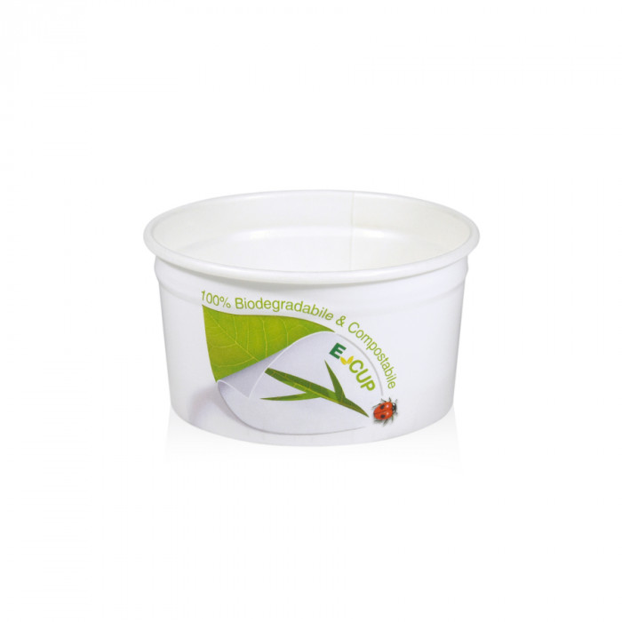 Italian gelato ingredients | Ice cream products | Buy online | GELATO PAPER CUP 16BFB FSC MATER-BI Medac on BIO cups