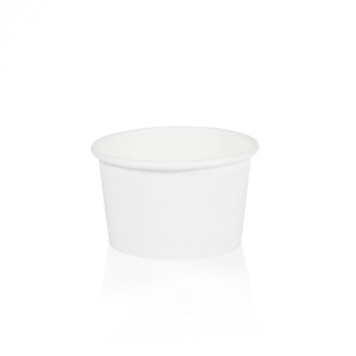 Prodotti per gelateria | Acquista online su Gelq.it | COPPETTA GELATO 5M BIANCA di Medac. Coppette gelato.