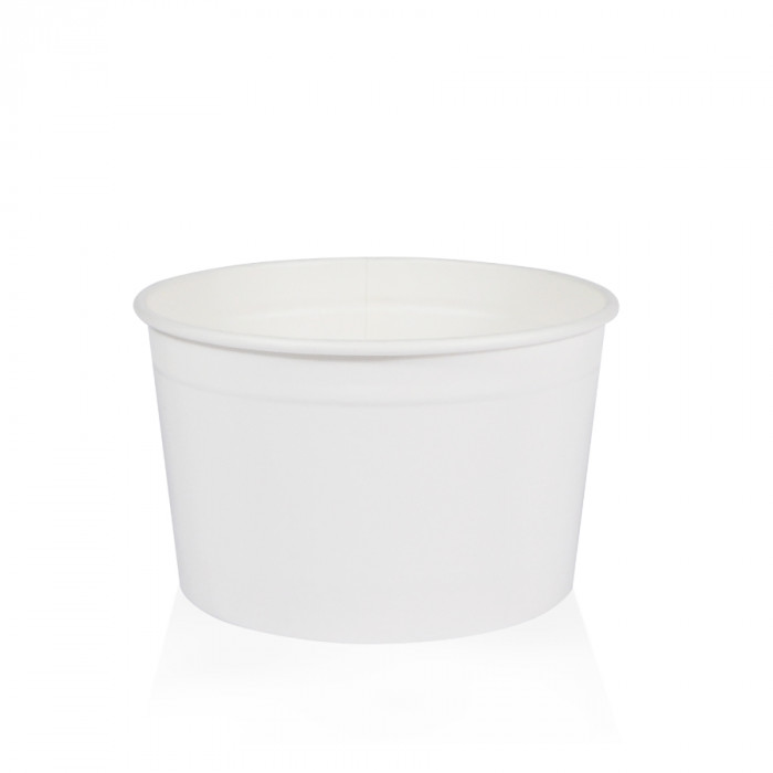 Gelq.it | GELATO PAPER CUP G4 WHITE Medac | Italian gelato ingredients | Buy online | Gelato paper cups