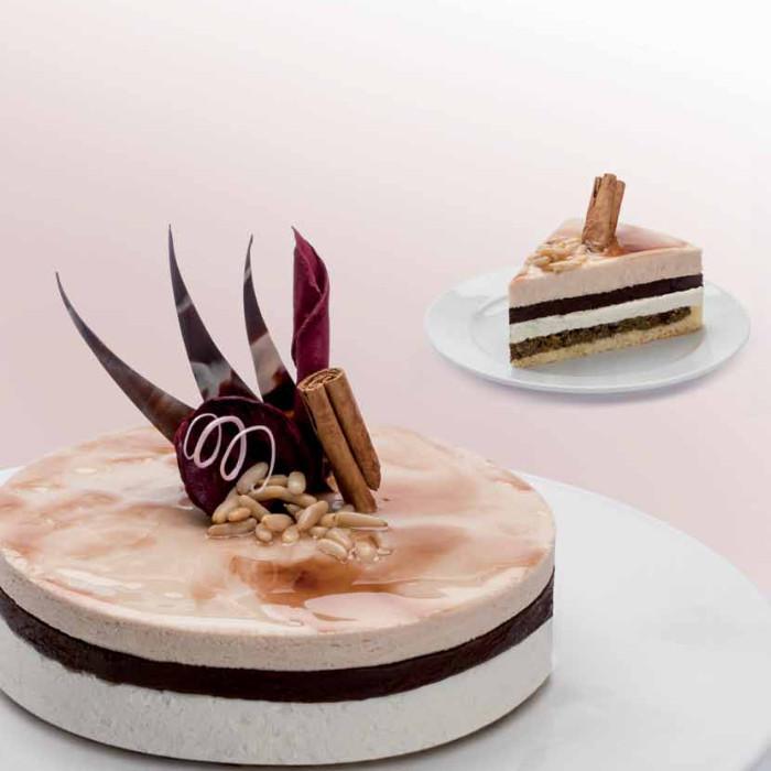 Buy online on Gelq.it | HAZELNUT SEMIFREDDO BASE Elenka | Italian gelato ingredients | Semifreddo bases Elenka