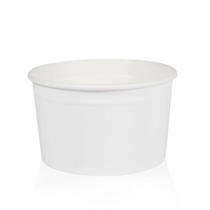 Gelq.it | GELATO PAPER CUP M2 WHITE Medac | Italian gelato ingredients | Buy online | Gelato paper cups