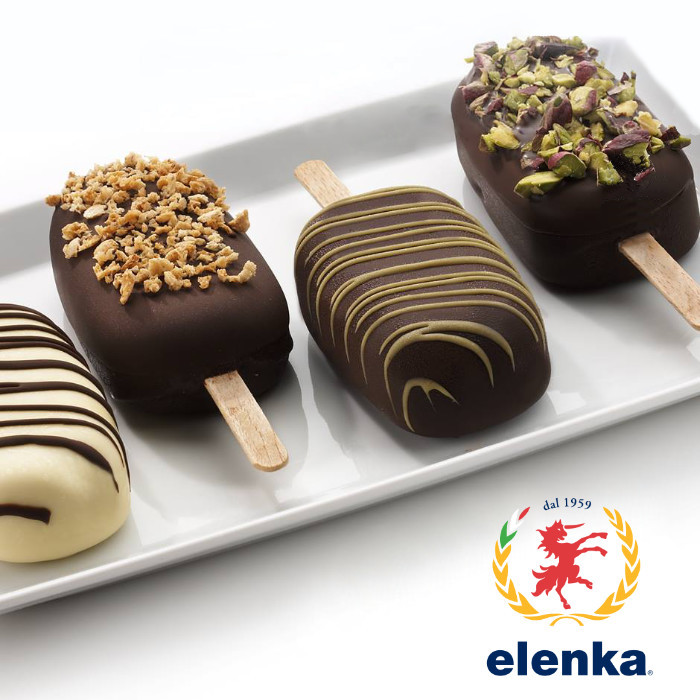 Acquista online su Gelq.it |Elenka COPERTURA GIALLA FRUTTO SOMALO - BANANA. Prodotti per la tua gelateria. Coperture Elenka.