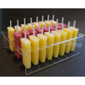Gelq.it | PLEXIGLASS BRIDGE FOR ICE LOLLY - POPSICLE Gelq Accessories | Italian gelato ingredients | Buy online | Gelato parlour