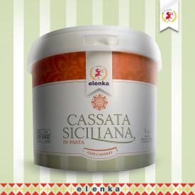Acquista online su Gelq.it |Elenka PASTA CASSATA SICILIANA CON CANDITI. Prodotti per la tua gelateria. Paste gelato Elenka.