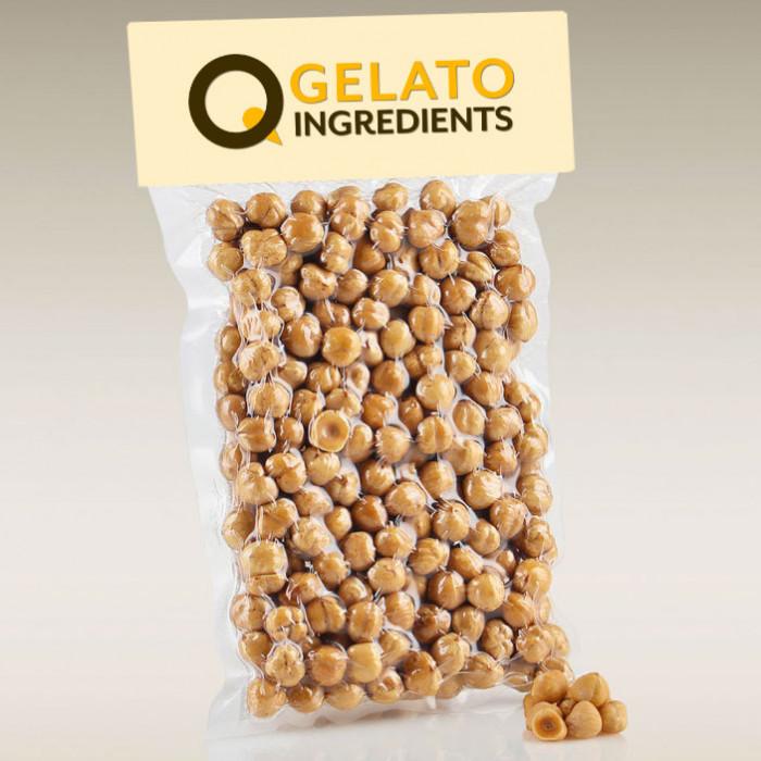Gelq.it | PREMIUM ROASTED HAZELNUTS Gelq Ingredients | Italian gelato ingredients | Buy online | Dried fruit