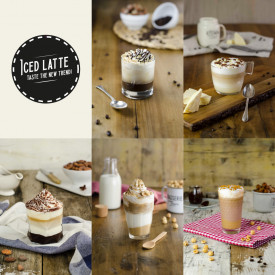 Acquista online su Gelq.it | KIT ICED LATTE di Leagel | Articoli per il bar, Cappuccini, frappuccini, preparati per iced latte.