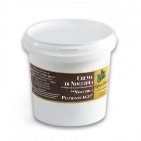 Prodotti per gelateria | Acquista online su Gelq.it | CREMA GIANDUIA CON NOCCIOLA IGP - BARATTOLO DA 1 KG. di Papa dei Boschi. C