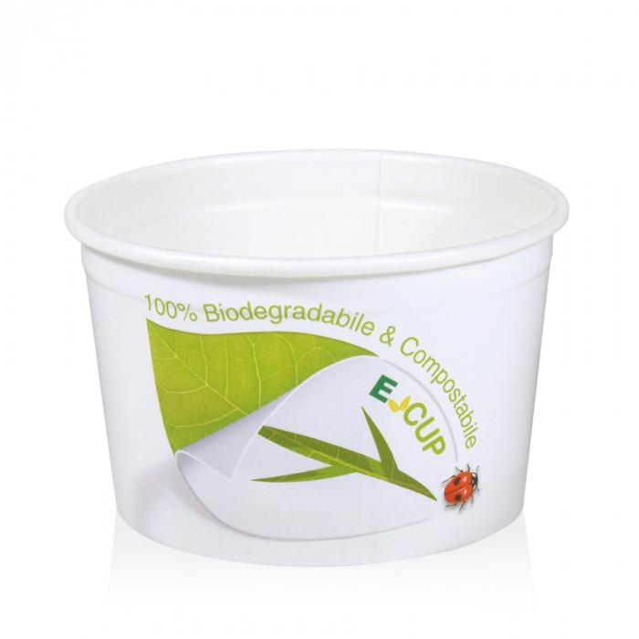 Prodotti per gelateria | Acquista online su Gelq.it | COPPETTA GELATO MD4FB FSC MATER-BI di Medac. Coppette e bicchieri BIO gela