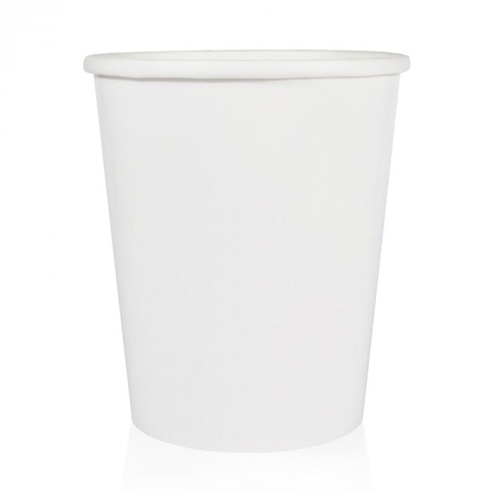 Gelq.it | MILKSHAKE PAPER CUP W550 WHITE Medac | Italian gelato ingredients | Buy online | Gelato paper cups