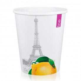 Gelq.it   MILKSHAKE PAPER CUP W550 ICE & CITY Medac   Italian gelato ingredients   Buy online   Gelato paper cups