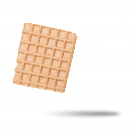 Gelq.it | SQUARE WAFFLES 50 X 50 La Cialcon | Italian gelato ingredients | Buy online | Waffle decorations
