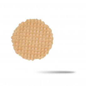 Italian gelato ingredients | Ice cream products | Buy online | BISCOTONDO WAFFLE BISCUIT La Cialcon on Waffle decorations