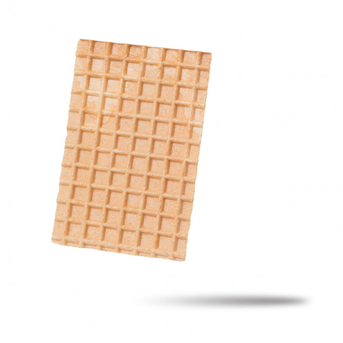 Gelq.it | RECTANGULAR WAFFLE 60 X 90 La Cialcon | Italian gelato ingredients | Buy online | Waffle decorations