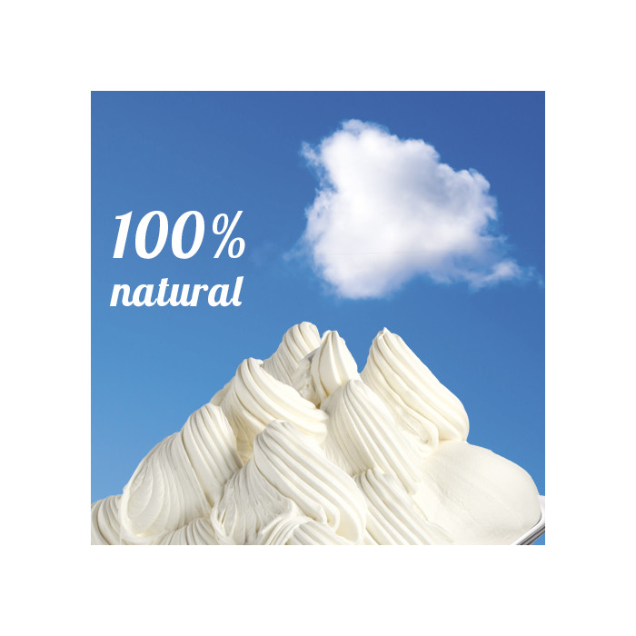 Gelq.it | PURE MILK BASE 100 Rubicone | Italian gelato ingredients | Buy online | Ice cream bases 100