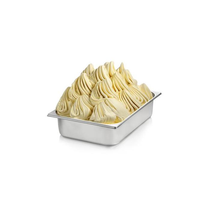 Prodotti per gelateria | Acquista online su Gelq.it | BASE VANIGLIA GIALLA 100 di Rubicone. Basi gelato 100.