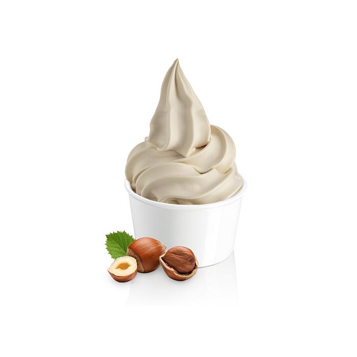 Gelq.it | SOFT HAZELNUT BASE Rubicone | Italian gelato ingredients | Buy online | Soft serve ice cream bases