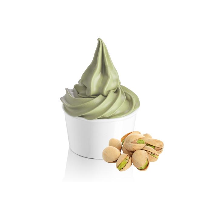Gelq.it   SOFT PISTACHIO BASE Rubicone   Italian gelato ingredients   Buy online   Soft serve ice cream bases