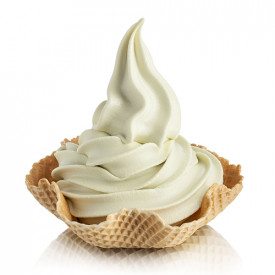 Gelq.it | SOFT GREEN TEA BASE Rubicone | Italian gelato ingredients | Buy online | Soft serve ice cream bases