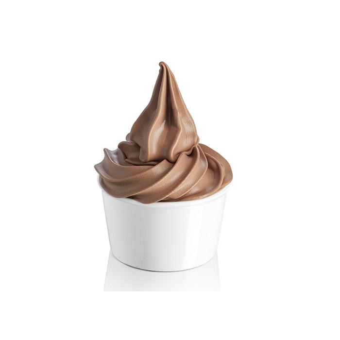 Gelq.it | FROZEN SOFT YOGURT CHOCOLATE Rubicone | Italian gelato ingredients | Buy online | Frozen yogurt bases
