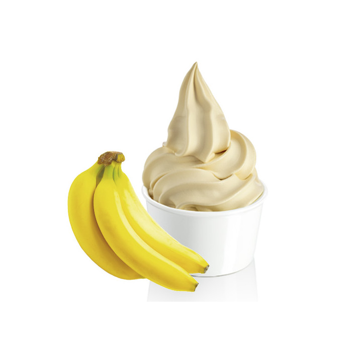 Prodotti per gelateria | Acquista online su Gelq.it | FROZEN STEVE YOGURT BANANA di Rubicone. Basi frozen yogurt.