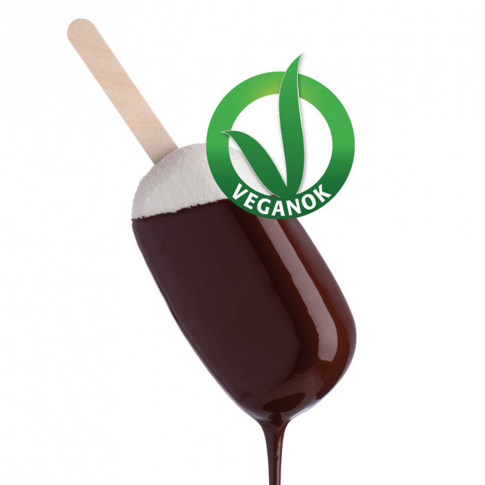 Gelq.it | VEGAN STRACCIATELLA COVERING Rubicone | Italian gelato ingredients | Buy online | Coverings