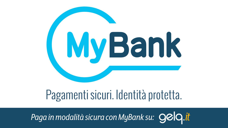 Acquista i tuoi prodotti per gelateria su Gelq.it e paga con bonifico immediato grazie a MyBank.