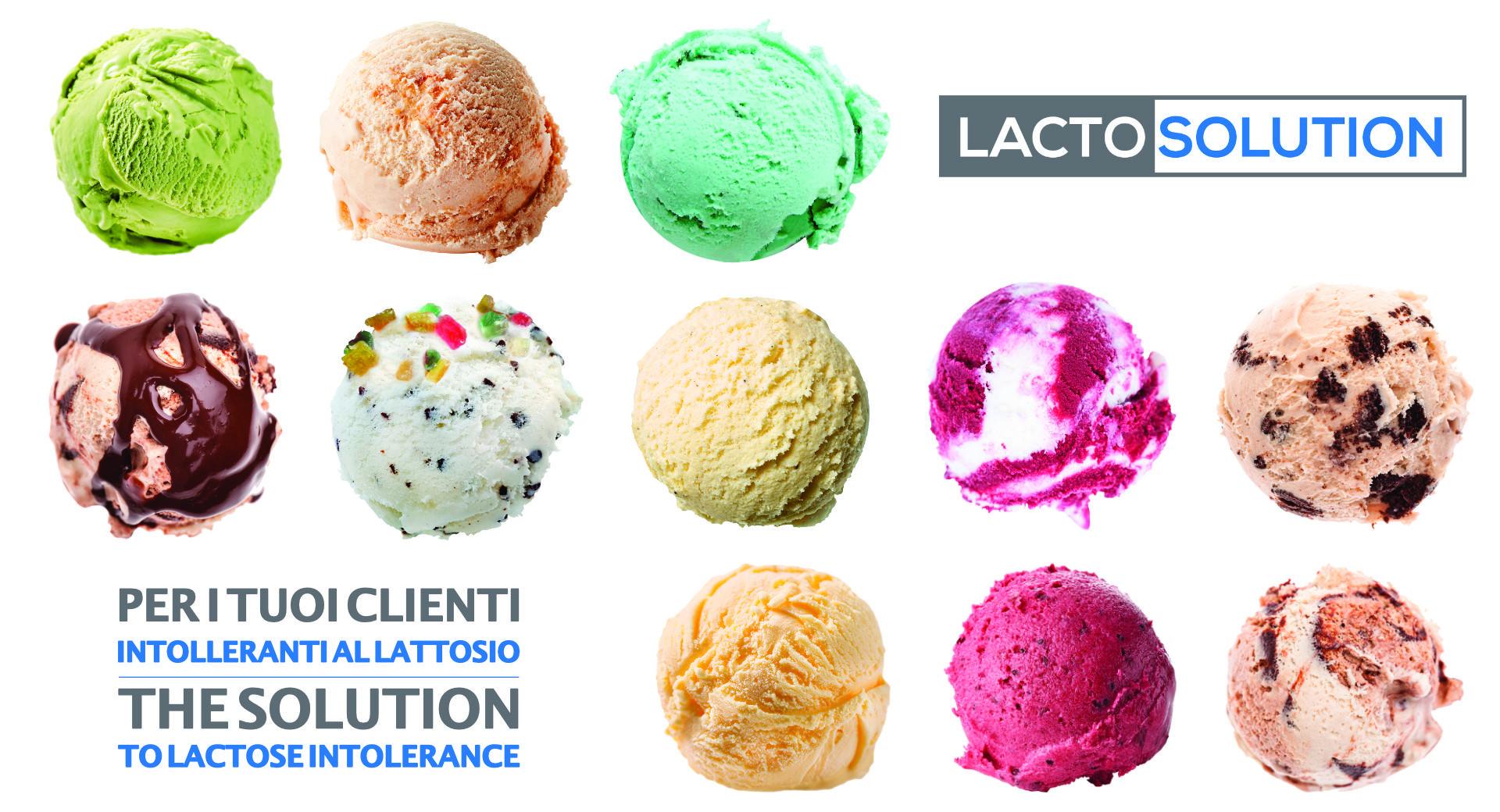 LACTOSOLUTION In gelateria, per i tuoi clienti intolleranti al lattosio