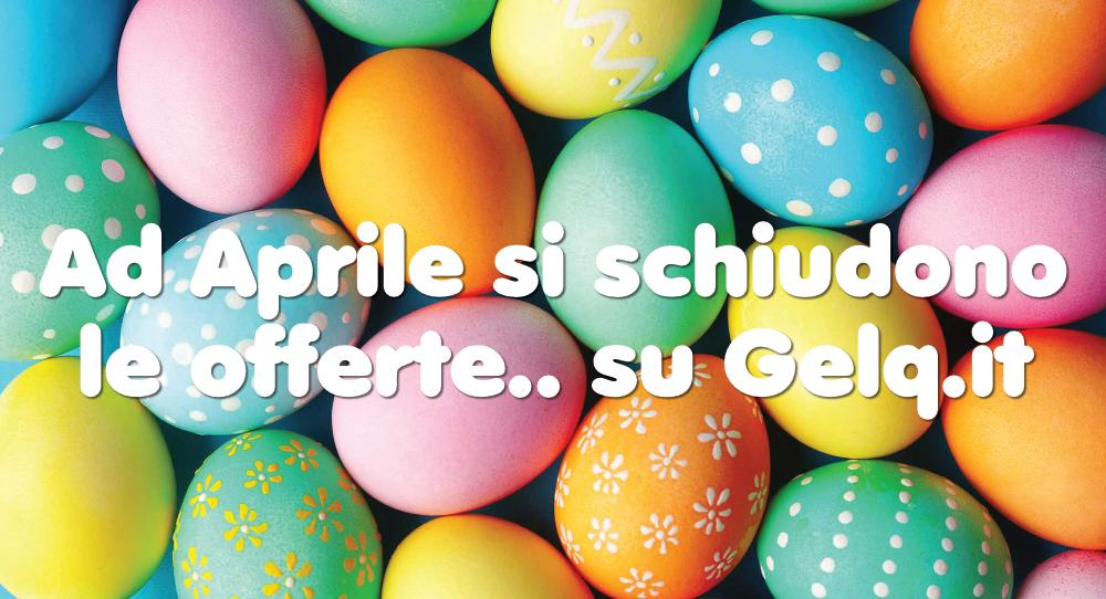 Articoli per gelateria, ad aprile si schiudono le offerte di Gelq.it