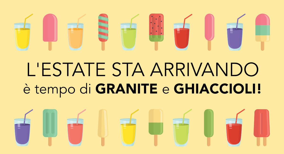 Granite, Ghiaccioli e tante idee per la tua gelateria per il mese di giugno su Gelq.it