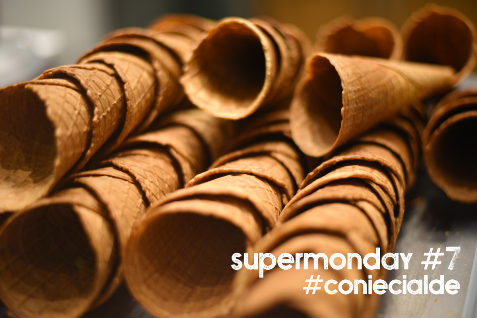 Super Monday #7 - Gelato Cones on the spot !  Save 15%