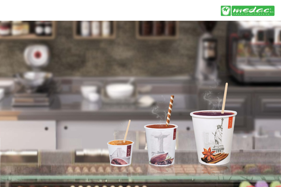 Winter is coming. Bring the hot chocolate in the right paper cup with a 30% discount!